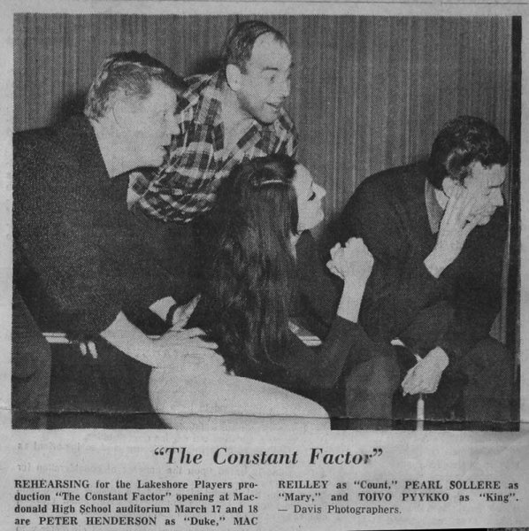 "Publicity for ""The Constant Factor"""