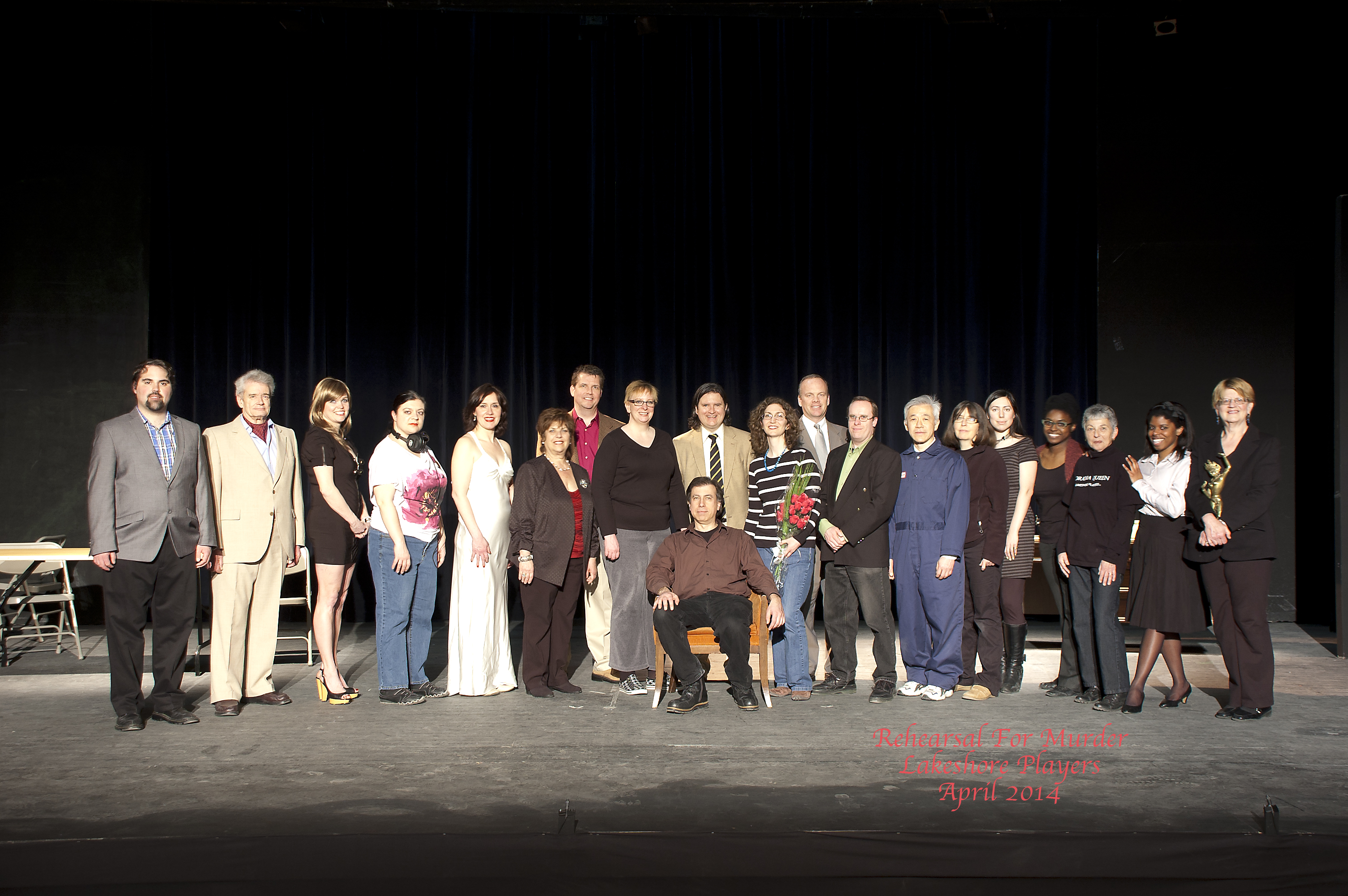 Rehearsal For Murder - cast and crew