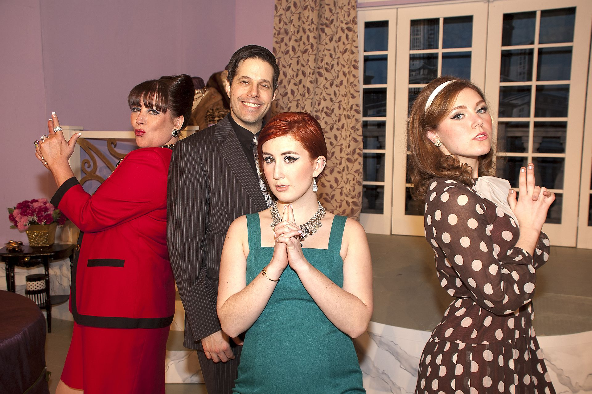 Not Now, Darling/Lakeshore Players/Feb 2015