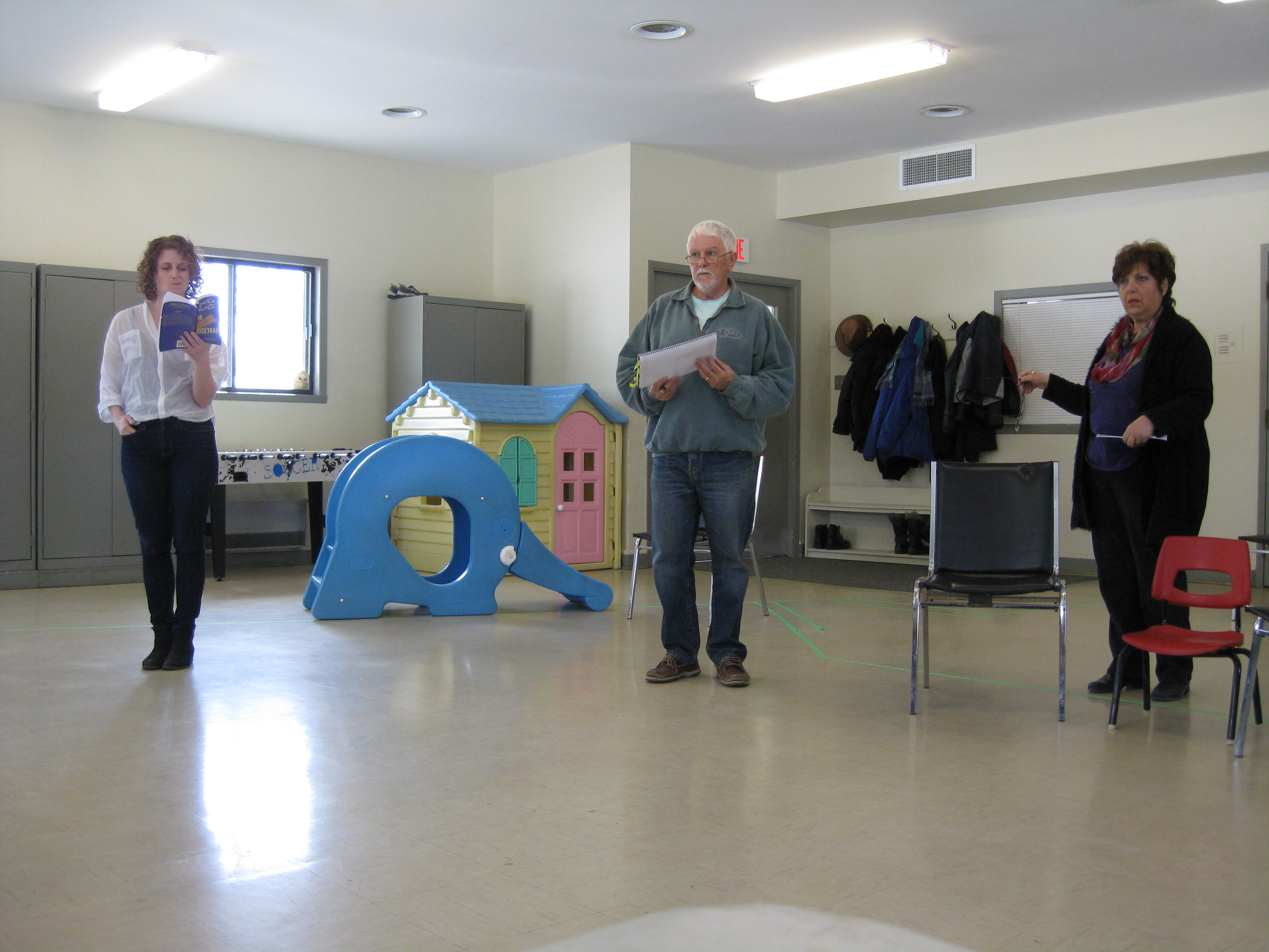 The Mousetrap - Rehearsals